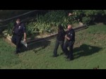 Raw Video: Aurora police foot chase