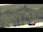 Raw video: K-9 chases down suspect during police chase