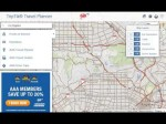 How to use AAA TripTik Travel Planner – Construction and Traffic