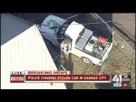 Kansas City Police Chase (February 13, 2015) KSHB | Suspect Killed on LIVE TV!