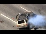 RAW: Dramatic end to California police chase